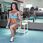 Pro Fitness Model: Samantha Baker Talks With Simplyshredded.com [Updated - 2011]