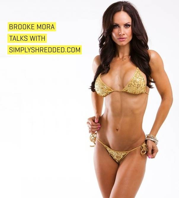 JamCore Girl: IFBB Bikini Pro Athlete Brooke Mora Talks With Simplyshredded.com