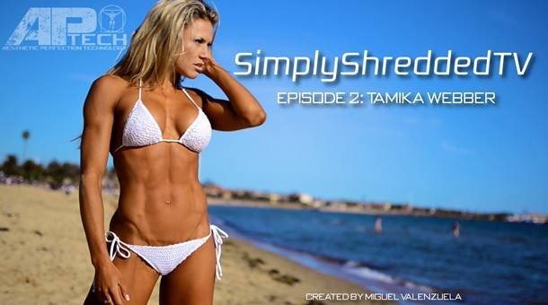 SimplyShreddedTV Episode 2: Featuring Tamika Webber – The Shredded Paramedic