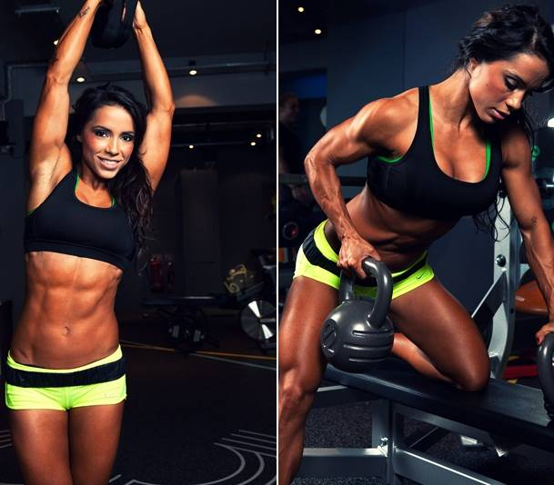 WBFF Pro World Champion & Fitness Model Andreia Brazier Talks With Simplyshredded.com