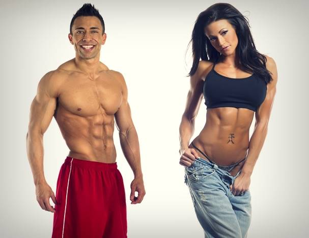 The Shredded Couple: Michael & Chelcea Gonzales Talk With Simplyshredded.com
