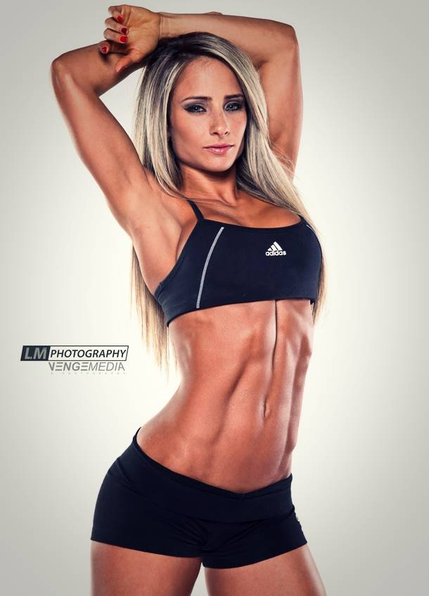 Strong & Sexy: Fitness Model Marissa Rivero Talks With Simplyshredded.com
