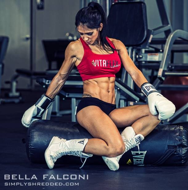 Fitness Diva: Cover Model Bella Falconi Talks With Simplyshredded.com