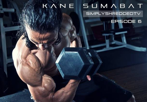 SimplyShreddedTV Episode 6: SHRED TILL DEAD Featuring Controlled Labs Athlete Kane Sumabat