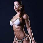 WBFF Pro Fitness Model Andreea Tina Talks With Simplyshredded.com