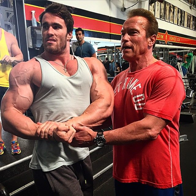 Arnold 20 calum von moger talks with simplyshredded 6 malvernweather