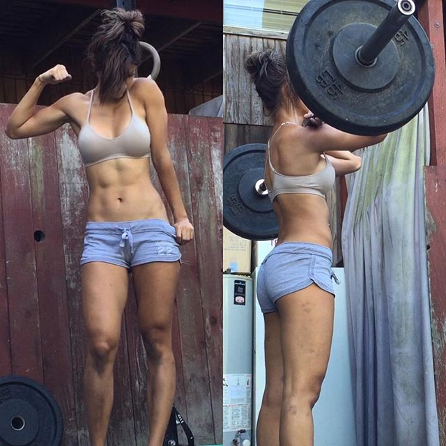 18 year old ripped girl with amazing muscles 10